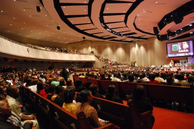 Friendship-West Baptist Church 5,000-seat sanctuary by Theo Johnson, web