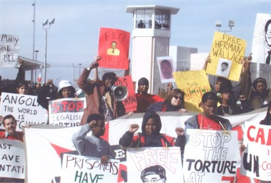 Angola 3 children's protest c. 2005