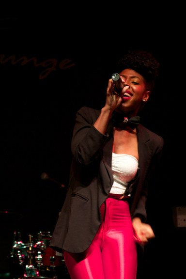 Deja Bryson performs live