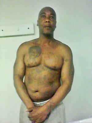 Oscar Grant Jr. in Solano State Prison