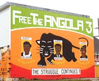 'Free the Angola 3' by Rigo 23 mural in New Orleans