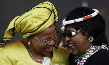 Graça Machel and Winnie Madikizela-Mandela