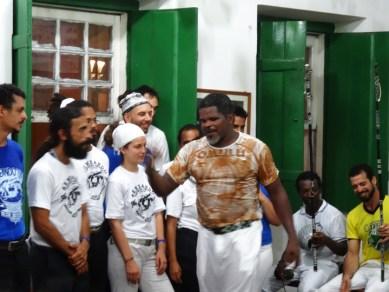 Mestre Jogo De Dentro, Capoeira Mandinga, Salvador, Bahia, spars with capoeiristas 1213 by Wanda, web