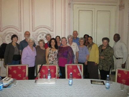 Richmond Regla Cuba Tour Cuban 5 families with delegation 1213 courtesy Tarnel Abbott, web