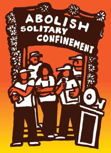 'Abolish Solitary Confinement' poster