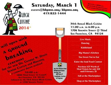 Black Cuisine Groundbreaking 030114