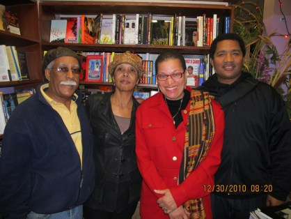Marcus Books Gregory & Karen Johnson, Julianne Malveaux, Carlos Levexier 123013, web
