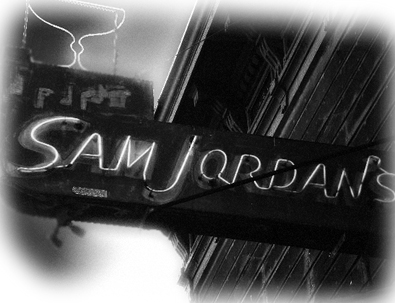 Sam Jordan's sign