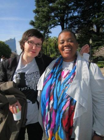 Joint hearing on solitary Emma Rubin, Nakisha Rice of PHSS Capitol 021114 by Denise Mewbourne
