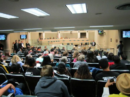 Joint hearing on solitary overflow balcony Capitol 021114 by Denise Mewbourne