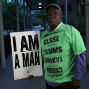 'I am a man' 'Close Tamms' Melvin Haywood, 8 yrs Tamms solitary, 30 yrs prison by Lora Lode, Tamms Year Ten, 2012