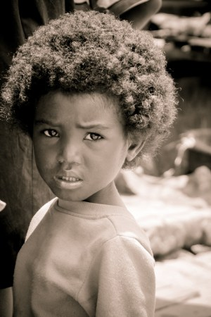 Malagasy child – Photo: TaSin Sabir