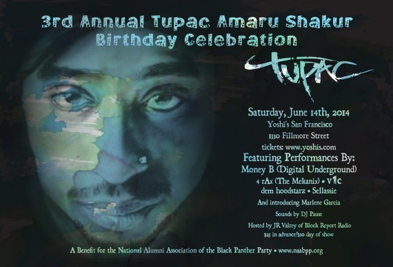 Tupac B'day Tribute 061414 by NAABPP-1