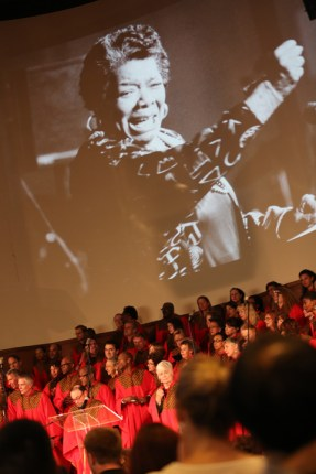 Maya's spirit infused the choir and the audience at the celebration of her life at Glide Memorial June 15. – Photo: TaSin Sabir