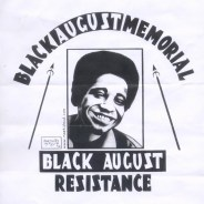 """Black August Memorial, Black August Resistance"" – Art: Kevin ""Rashid"" Johnson, 1859887, Clements Unit, 9601 Spur 591, Amarillo TX 79107"