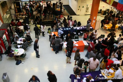 Hundreds of dreams began to come true at the 2011 UCAN HBCU Recruitment Fair at Laney College. This year the fair returns to Laney on Sept. 10. – Photo: TheBlackHour.com