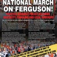 Justice for Michael Brown Hwy 70 Shutdown poster 091014