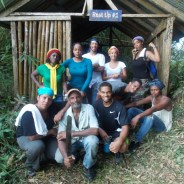 On a past tour, Dr. Brown and her students hiked in the Blue Mountains of Jamaica.