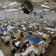 Alabama prisons are the most overcrowded in the country. This is Elmore Correctional Facility in Elmore, Alabama. – Photo: Brynn Anderson, AP