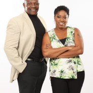 Garth St. Clair and his wife, Natasha Nunez