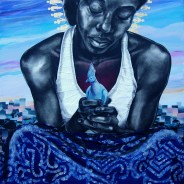 """A submission by one of the artists to the 2016 """"The Black Woman Is God"""" exhibit"""