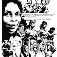 """Womyn Freedom Fighters"" – Art: Kevin ""Rashid"" Johnson, 1859887, Clements Unit, 9601 Spur 591, Amarillo TX 79107"