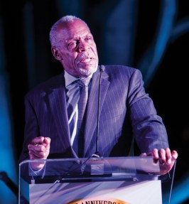 Danny Glover was a SFSU BSU founding member who worked closely with the Panthers. He keynoted the Gala on Saturday night. – Photo: Malaika Kambon