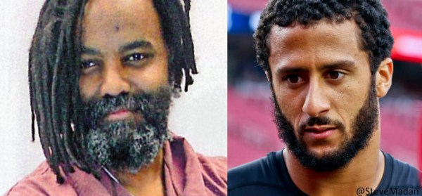 Mumia Abu Jamal and Colin Kaepernick