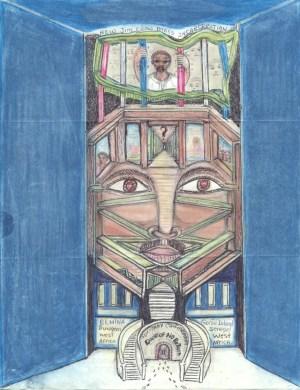 """Solitary Confinement"" – Art: Baridi J. Williamson"