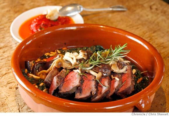Herb-roasted Sirloin Tip @ Ad Hoc (photo by Chris Stewart @ SF Chronicle)