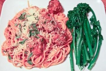spaghetti and meatball recipe