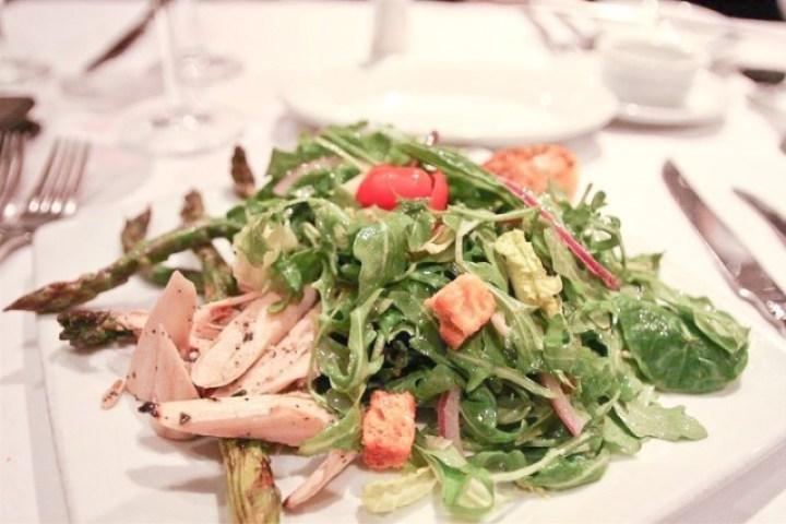 Arugula Salad with Heart of Palms