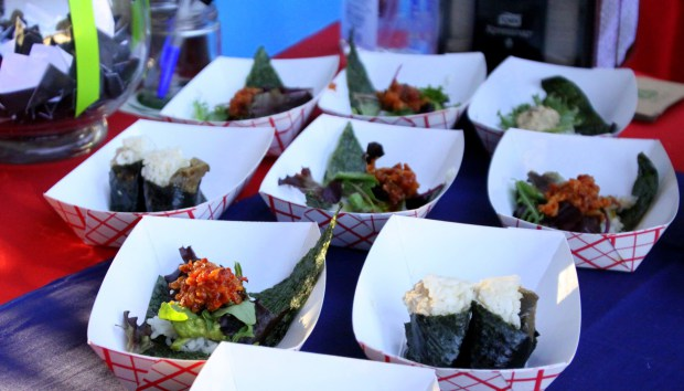 Onigilly's onigiri — already very popular on the SF Food Truck scene