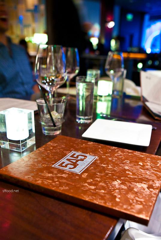 5a5 Steak Lounge in San Francisco