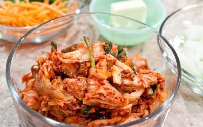 Anything but completely fresh kimchi