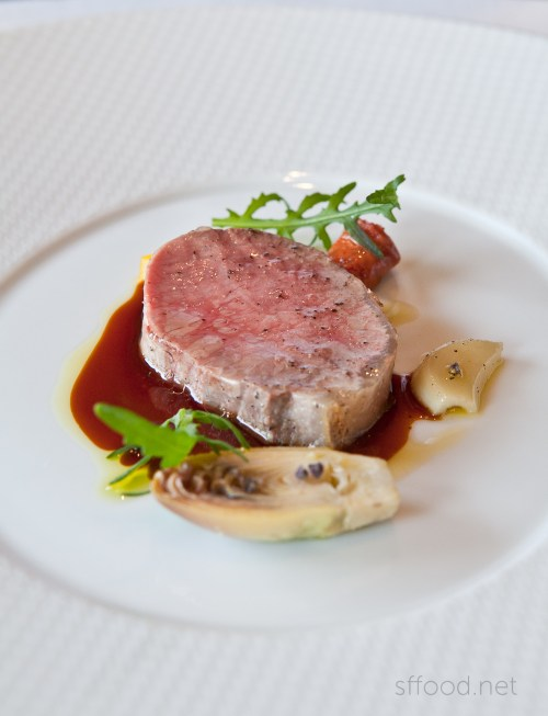 the french laundry meat course