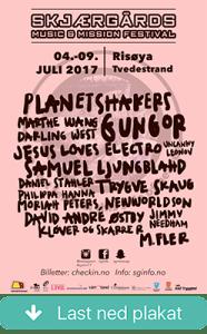 Plakat - Skjærgårds M&M 2017_artist