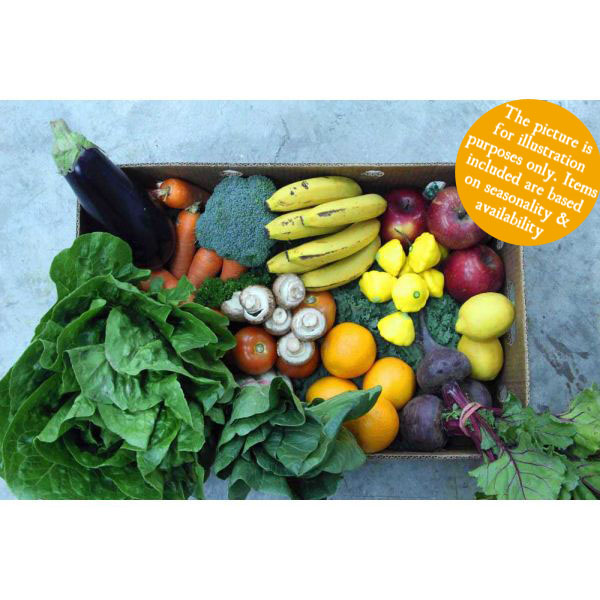 What can you find inside our fruit and veg box? Each week we make sure that only the BEST produce makes it into your box. Offering a variation every week!