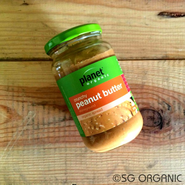 Planet Organic Crunchy Peanut Butter sold by SG Organic