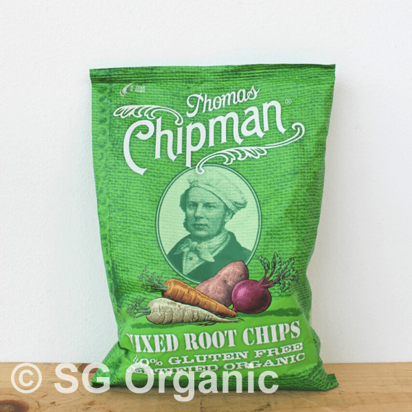 sg organic mixed root chips