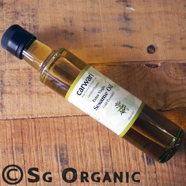 SG Organic Sesame Oil 250ml