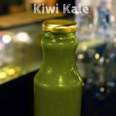 Organic, cold pressed Kiwi Kale Juice 250ml