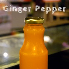 Organic, cold pressed Ginger Pepper Juice 250ml