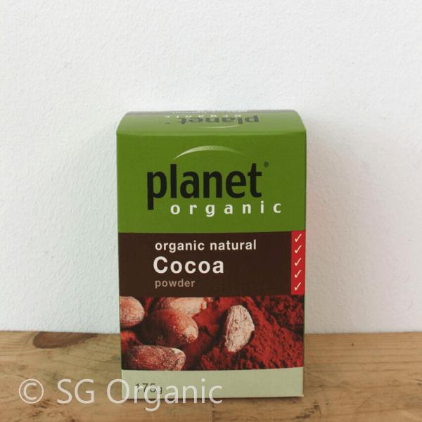 sg organic natural cocoa powder