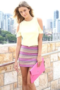 pink-bodycon-skirt