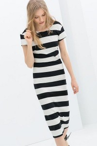 dresses-black-white-stripe-v-shape-back-maxi-dress-011901