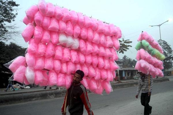 cottoncandy budhiya ke baal