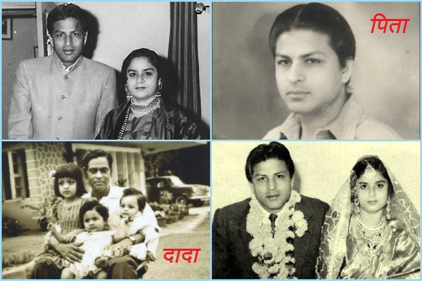 Shahrukh Khan Family Parents Father Mother