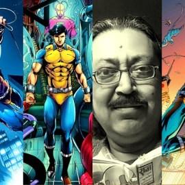 सुपर कमांडो ध्रुव और उसे रचने वाले कलाकार, लेखक अनुपम सिन्हा के बारे में जानिए