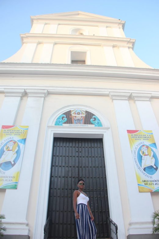 The Cathedral of San Juan. The second oldest church in the Americas
